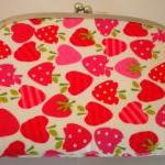 Coin purse - Pink Strawberr..